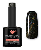 XKMY-001 VB™ Line Starry Cat Eye Black Gold - UV/LED soak off gel nail polish