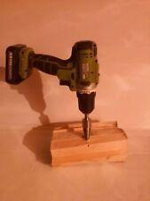 Log Splitter Screw Cone Cleaver Wood Splitter for Hand Drill Stick Copper NEW