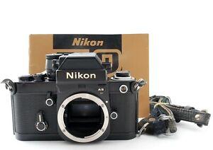"""EXC +5"" Nikon F2 AS Photomic F2AS Black body DP-12 35mm Film Camera Japan 9751"