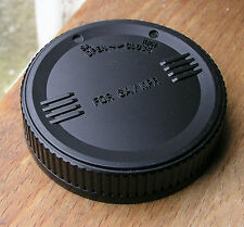 rear lens cap for Sigma SA SLR lenses used