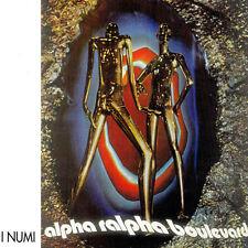 I NUMI Alpha Ralpha Boulevard LP italian prog