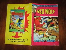GLI ALBI DEI SUPER-EROI NUMERO 44 EDITORIALE CORNO RED WOLF