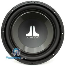 "JL AUDIO 12W1V3-2 SUB 12"" SINGLE 2 OHM 600W CLEAN BASS CAR SUBWOOFER SPEAKER NEW"