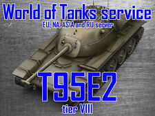 World of Tanks EU, NA, RU and ASIA - T95E2 - Tier 8 premium tank