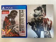 Metal gear solid v phantom pain definitivo PS4 todos los DLC Edición Limitada Steelbook