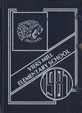 Yearbook Viers Mill Elementary School Silver Spring Maryland Jaguars 1987