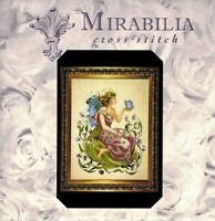 ✔️ NEW Mirabilia BUTTERFLY FAIRY Cross Stitch Design Chart Nora Corbett SEALED