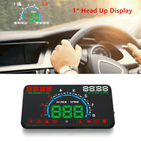 5.8 inch OBD2 Car HUD Head Up Display Speedometer Windshield Dashboard Projector