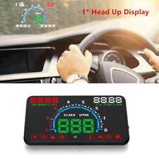 5.8 inch OBD2 Car HUD Head Up Display Speedometer Windshield Dashboard Projector