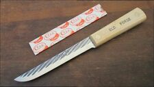 Rare UNUSED Vintage Case XX 417-6 STIFF Carbon Steel Chef/Butcher's Boning Knife