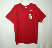 NWT University of Oklahoma Sooners NCAA College T Shirt Size Large Mens Clothing