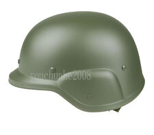 US PASGT SWAT AIRSOFT M88 STYLE PLASTIC HELMET GREEN-34248