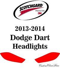 3M Scotchgard Paint Protection Film Clear Bra Pre-Cut Kits 2013 2014 Dodge Dart