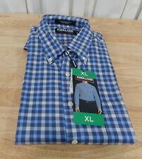 NWT Men's Kirkland Signature Long Sleeved Non-Iron Comfort Fit Sport Dress Shirt