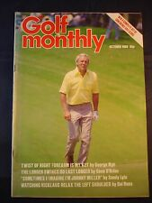 Vintage Golf Monthly - October 1980 - Birthday gift for the Golfer