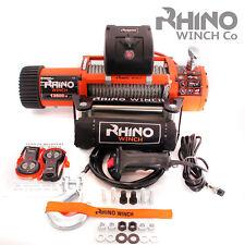 12 V électrique 4x4 Récupération RHINO Treuil 13500 lb (environ 6123.50 kg) - Deux Télécommandes (Pas 13000 lb (environ 5896.70 kg))