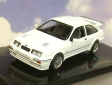 EXCELLENT IXO DIECAST 1/43 1987 FORD SIERRA RS COSWORTH IN WHITE CLC310