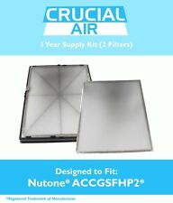 REPL Broan Nutone 1 Year Supply Kit 2 PreFilters 1 HEPA Filter Part # ACCGSFHP2