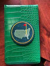 Golf Yardage Book Cover - Masters Green