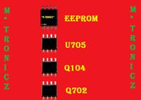 VIZIO  E461-A1    715G5560-M01-000-004X     REPAIR KIT  EEPROM  INCLUDED