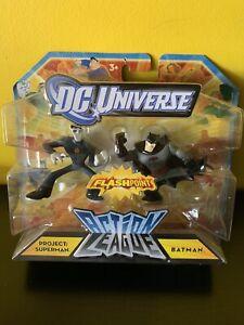 dc universe flashpoint Action League. Project Superman And Batman