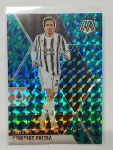 2020-21 Mosaic Serie A Asia Choice Federico Chiesa Peacock Prizms SSP