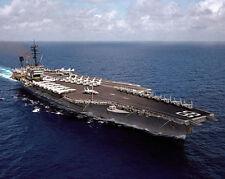 US NAVY CARRIER USS AMERICA CV-66 INDIAN OCEAN 8x10 SILVER HALIDE PHOTO PRINT