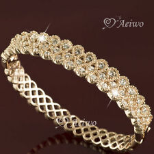 Diamond Rose Gold Plated Fashion Bangles
