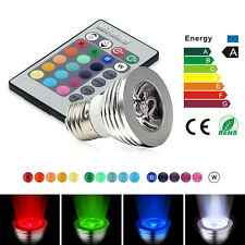 RGB E27 LED Magic Ball Bulb Disco DJ Laser Stage Light Projector Spotlights Mini