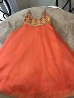 Cinderella Couture USA Flower Girl, Holiday, Pagent Dress Sz 6 Great Condition