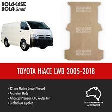 Toyota Hiace LWB - Genuine Van Cargo Flooring 12mm Marine Grade Plywood 05-18
