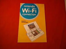 Nintendo DS Wi-Fi Connection Promo Booklet Set-Up Manual Promotional Mario Kart