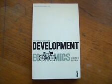 Development Economics - an Introduction by Walter Elkan 1976 Third World Poverty