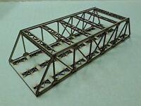 Model Railway Double Track Girder Bridge Wooden Kit OO Gauge Laser Cut 3mm MDF