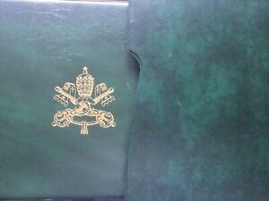 Vaticano 1959-74 album Marini con custodia e fogli a taschine