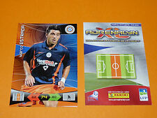 ESTRADA MONTPELLIER HERAULT MHSC FOOTBALL FOOT ADRENALYN CARD PANINI 2010-2011