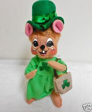 """NEW~WT 2016 Annalee 6"""" """"LASS MOUSE"""" #150416 FREE SHIPPING! St. Patricks Day!"""