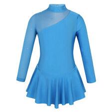 New listing Competition Figure Skating Dress Kids Girls Ice Skating Dress Leotard Costume