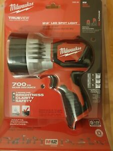 Milwaukee 2353-20 M12 TRUEVIEW LED Spotlight - Brand New