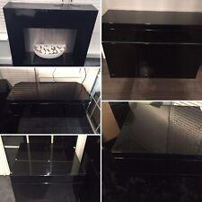 Living room furniture set - modern black high Gloss - 6 Piece