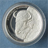 2014 Tuvalu American Buffalo 1 oz .999 Silver High Relief Proof Coin Perth Mint