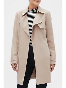 NWT** Banana Republic Tan Short Soft Trench Coat**Size: XL Tall ** 533559**$139