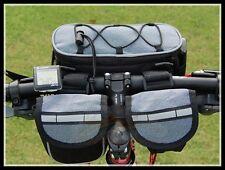 BIKE BICYCLE COMMUTING PANNIER REAR front tube mobile camera debris BAG
