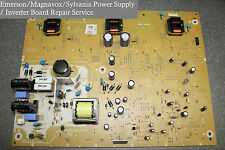 "Emerson 32"" TV  Power Supply Board Repair Service LC320EM2 A17F8MPW BA17F1F0102"
