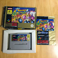 Super Nintendo / SNES - Boxed - Super Bomberman 2