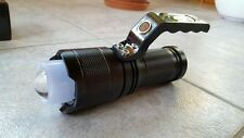 Cree LED SMD 1000 Meter 28000 Lumen Taschenlampe Zoom Suchlicht XML-T6 Outdoor