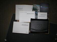2016 Hyundai Sonata owners manual set with case and Bluelink/multimedia manuals