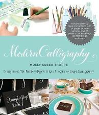 Modern Calligraphy by Molly Suber Thorpe Paperback Book