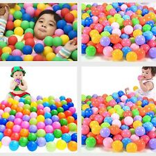 50pc 5.5CM Kids Baby Colorful Soft Play Balls Toy for Ball Pit Swim Pit Ball Poo