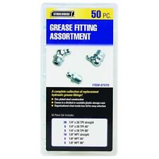 Storehouse 50 Piece Grease Fitting Assortment